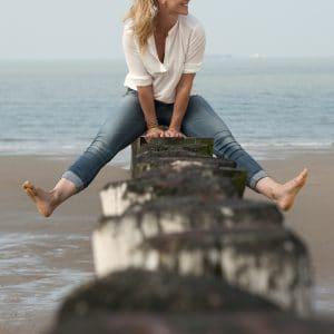 Actief op het strand