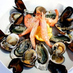 Fruits de mer (1 adulte)