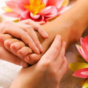 Thaise rituelen voor de voeten